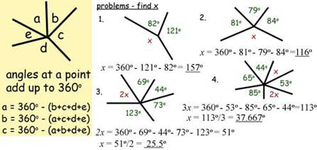 math worksheet : angles revise shape  space gcse maths tutor : Gcse Maths Angles Worksheets